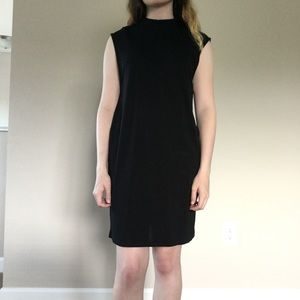 h&m mock neck muscle sleeve t shirt dress